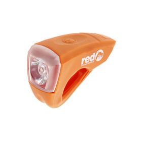 Red Cycling Products Urban LED etuvalo USB-kaapelilla, oranssi